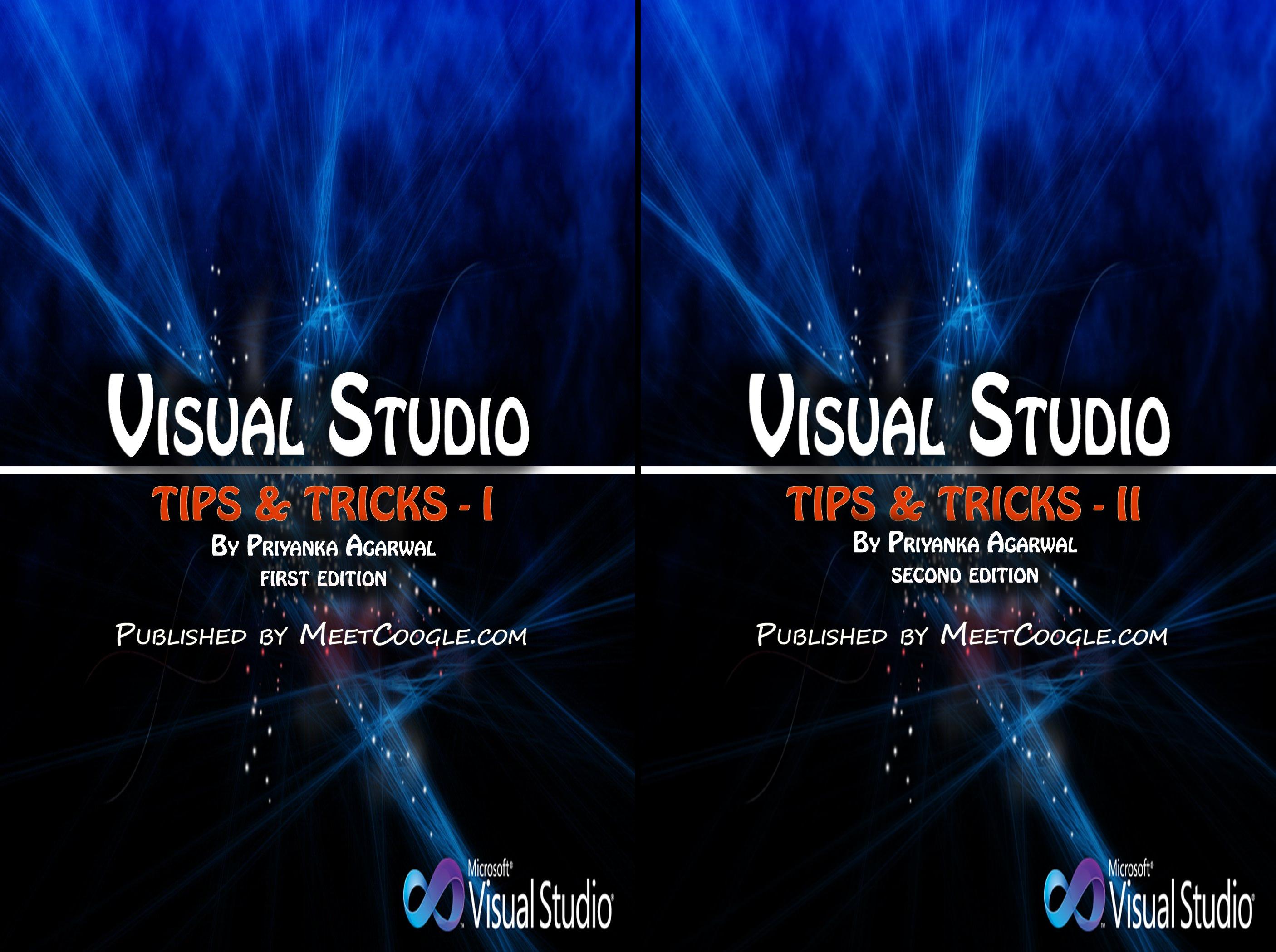 Visual Studio Tips and Tricks (2 Book Series)