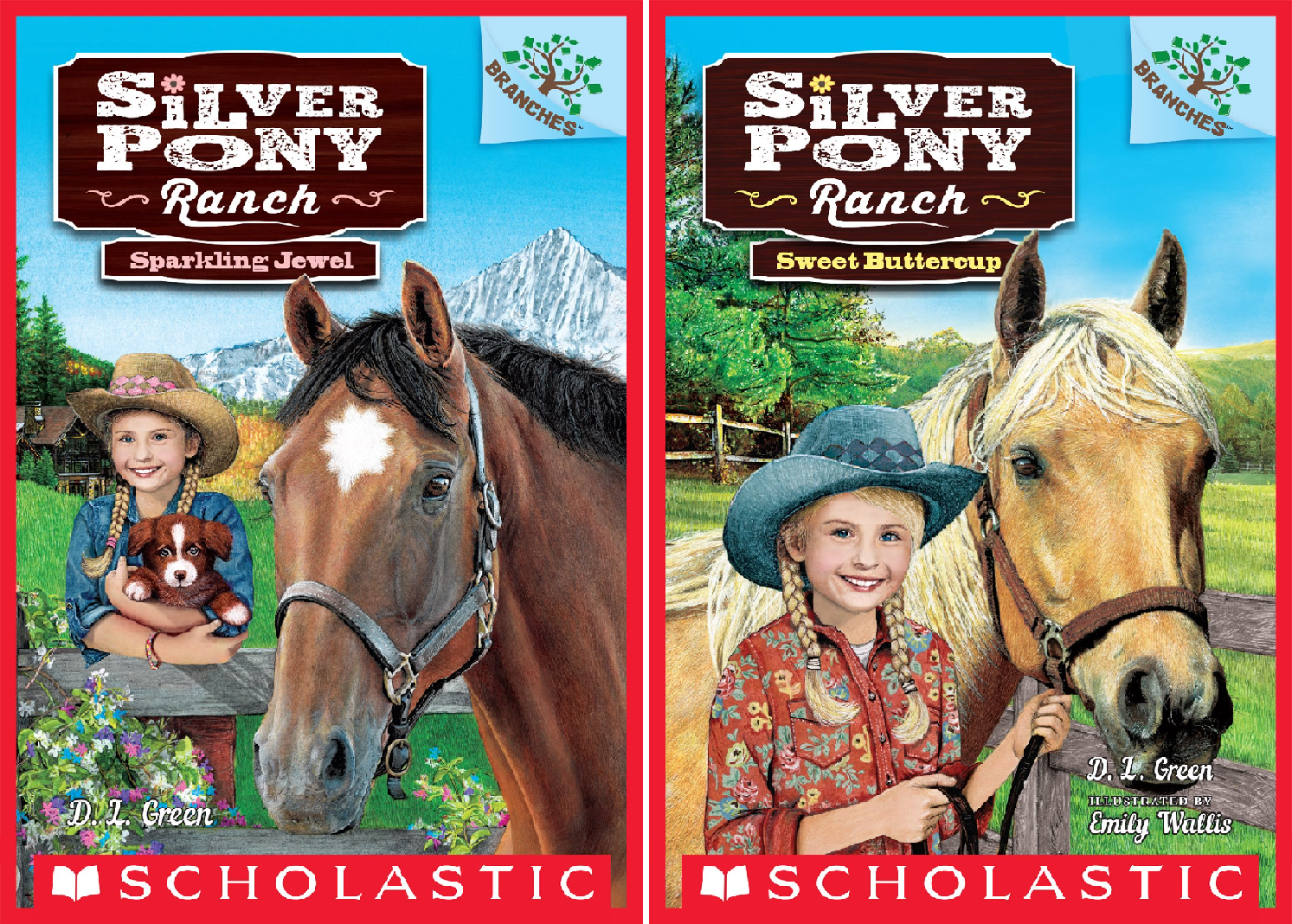 Silver Pony Ranch (2 Book Series)