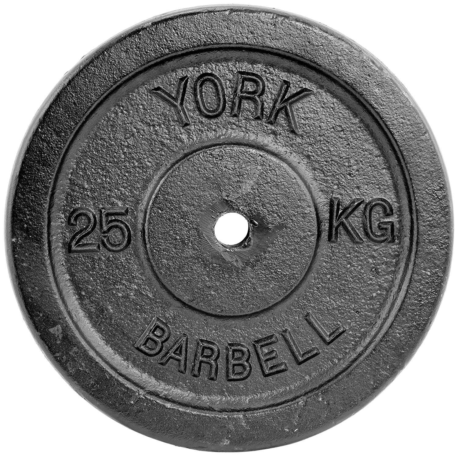 York Fitness 25kg Single Standard Cast Iron Disc 2418