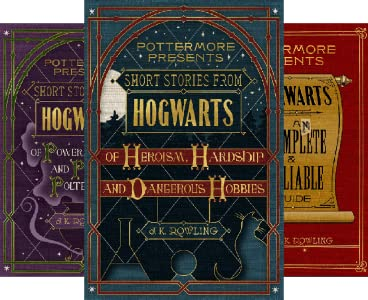 Amazon com: Short Stories from Hogwarts of Heroism, Hardship