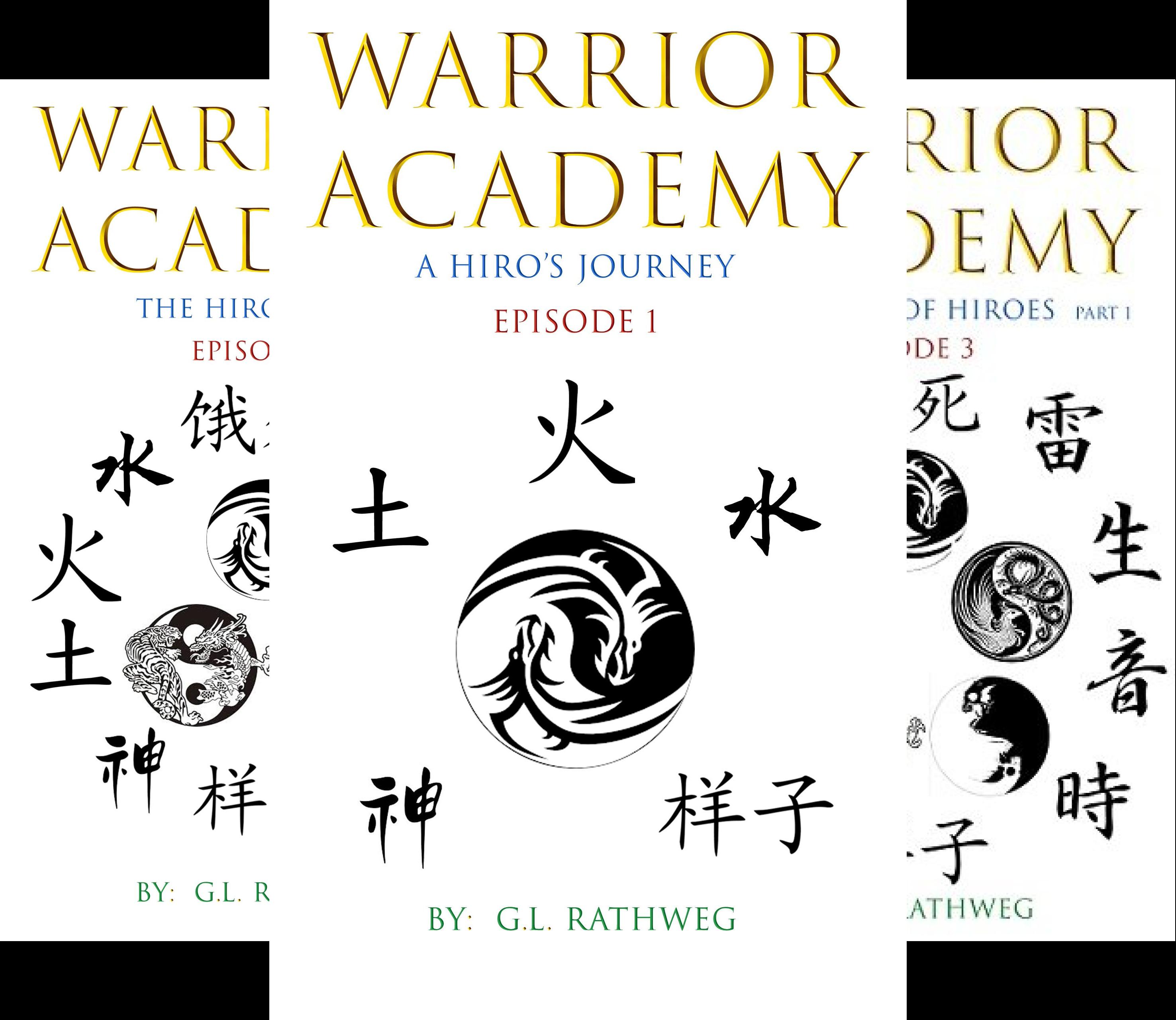 Warrior Academy (4 Book Series)