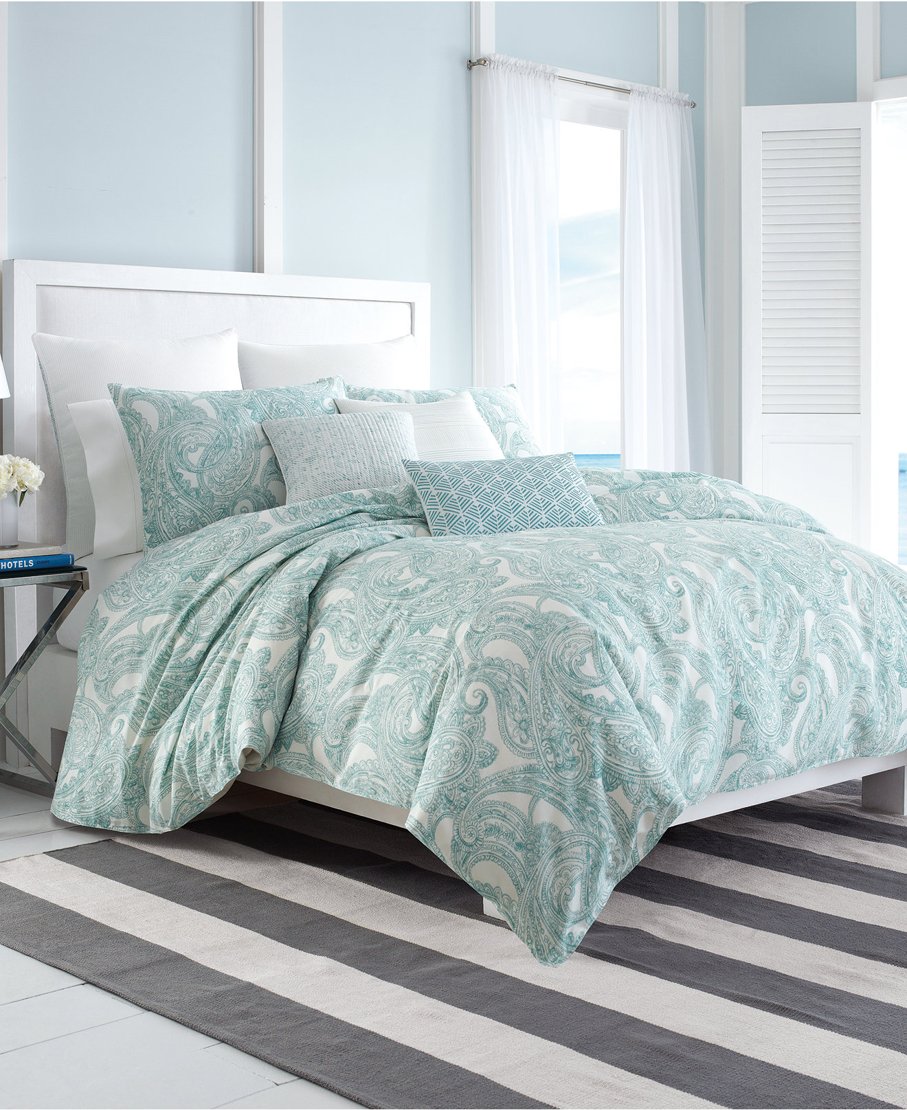 Nautica Long Bay European Sham - Bedding Collections - Bed & Bath - Macy's Bridal and Wedding Registry