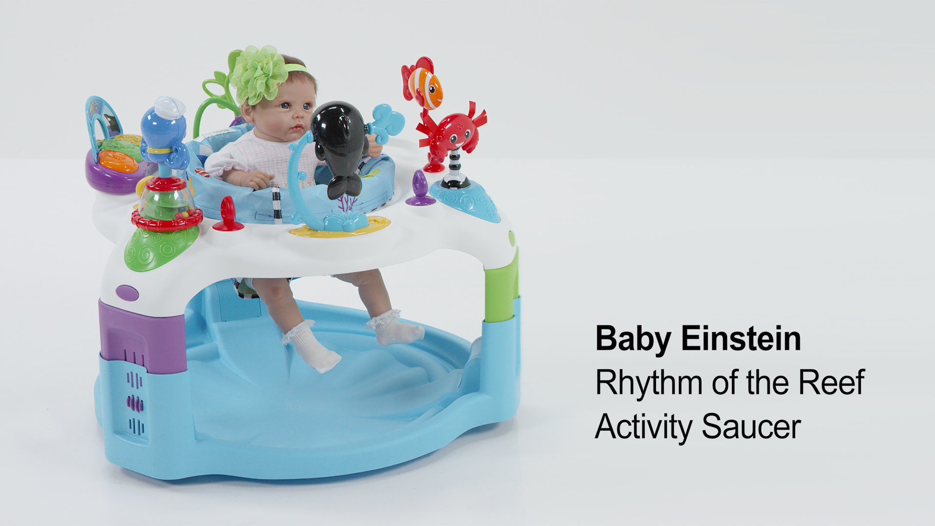 76252ac0d Baby Einstein Rhythm of the Reef Activity Saucer