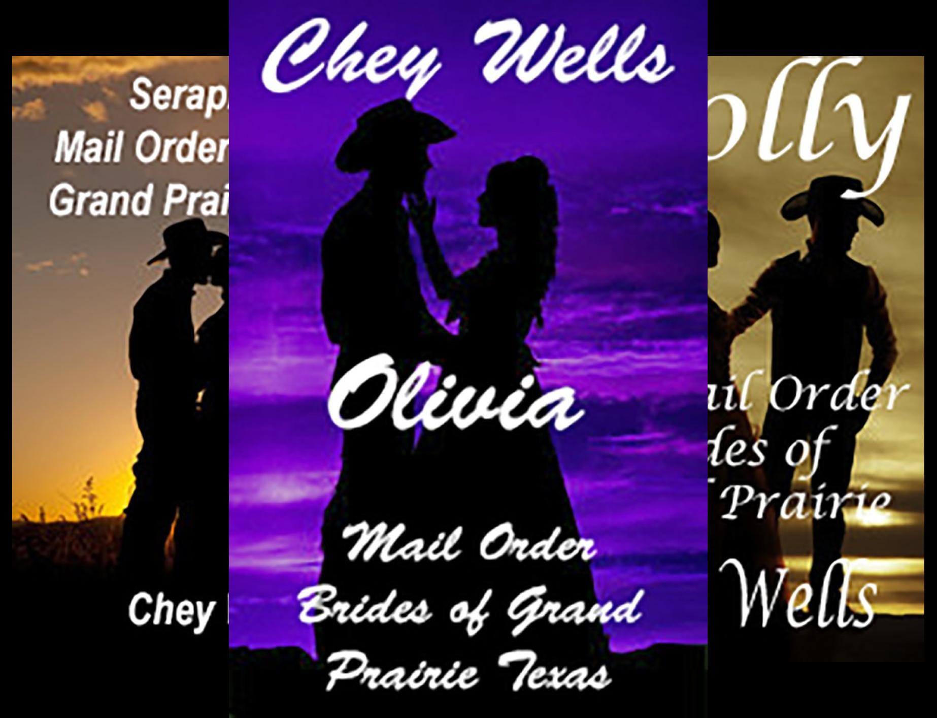 Mail Order Brides of Grand Prairie Texas (3 Book Series)