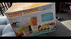 Amazon.com: Sistema de cuidado para bebé Baby Bullet ...