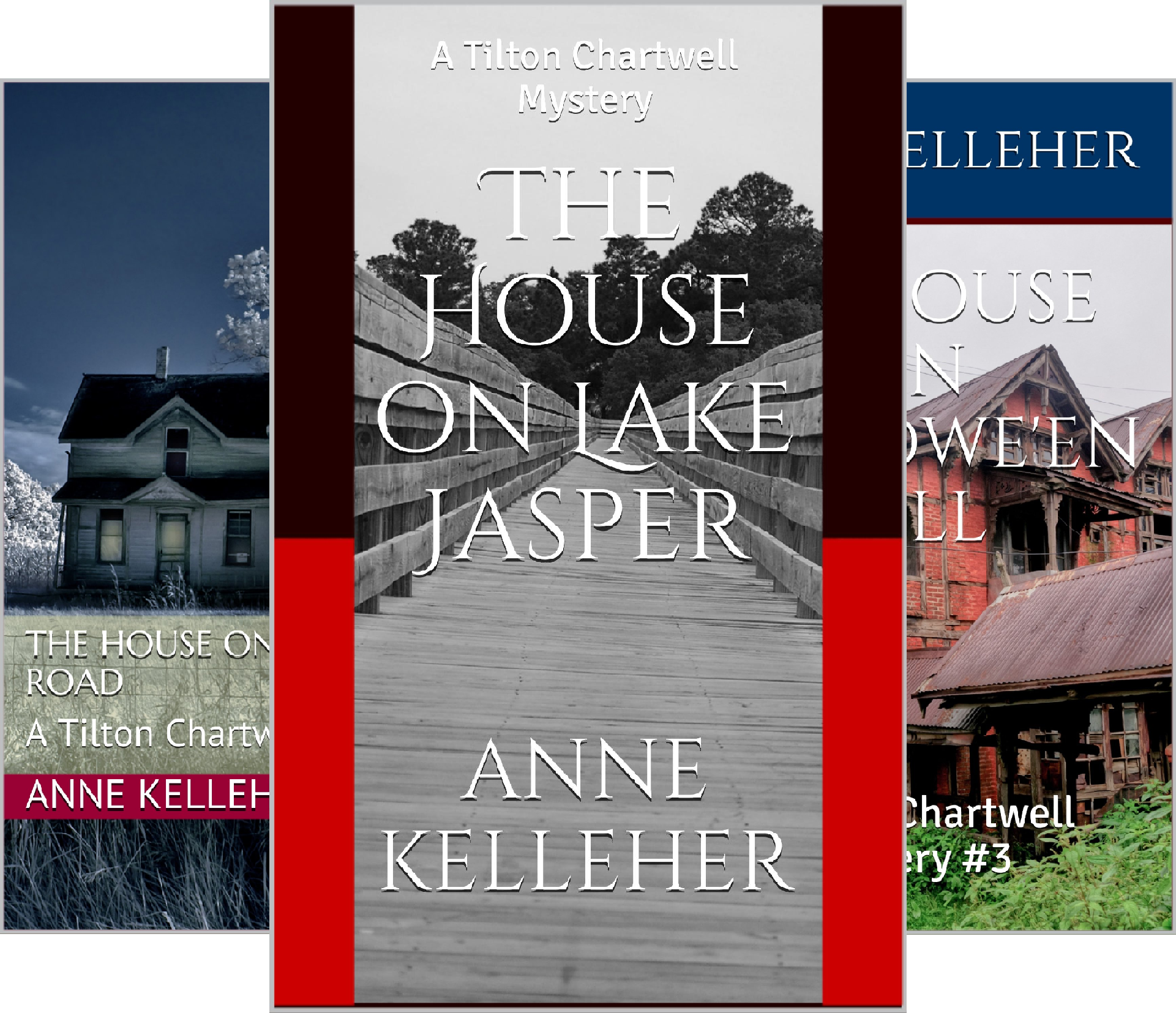 Tilton Chartwell Mysteries (3 Book Series)
