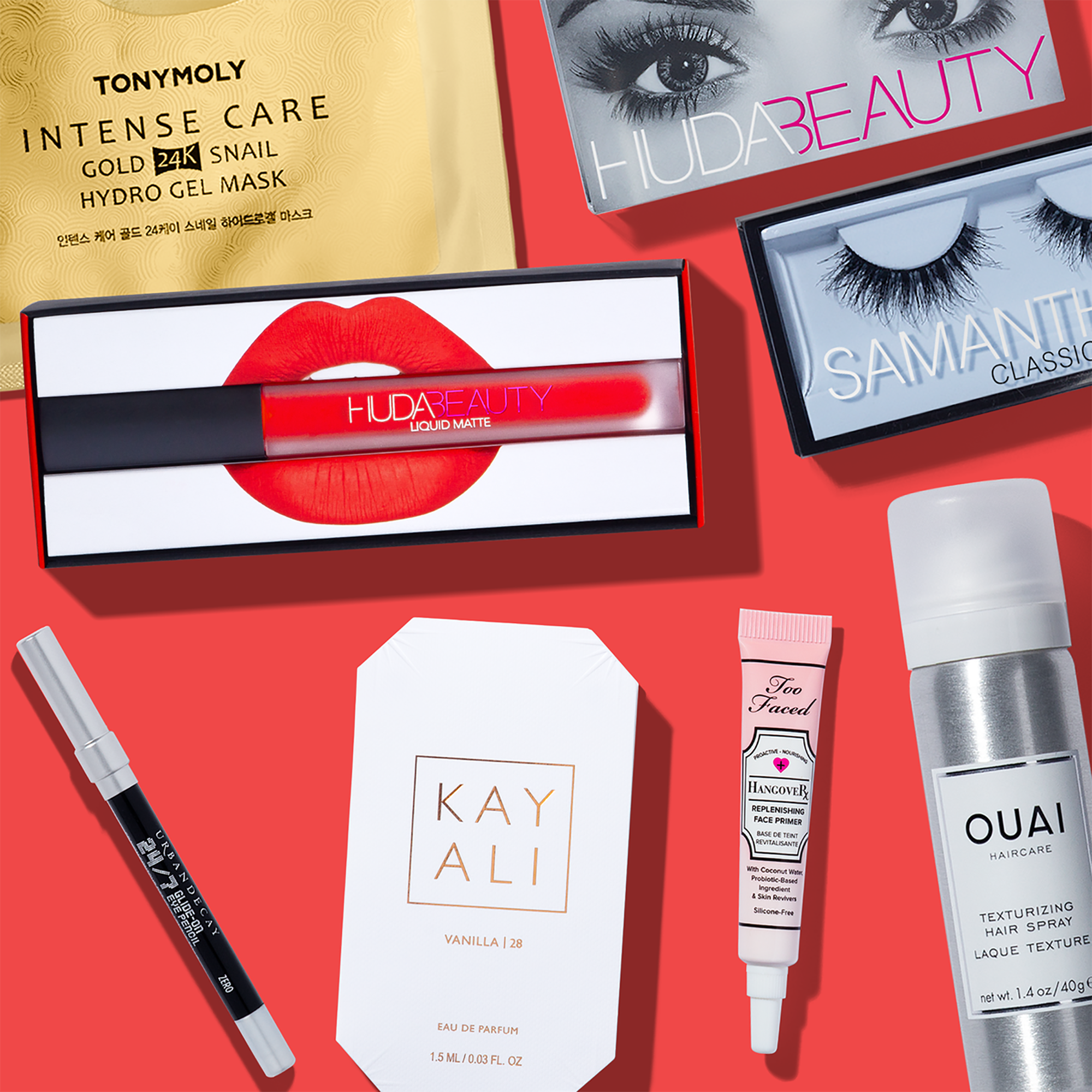 Allure Beauty Box - Luxury Beauty and Make Up Subscription Box (Pencil Makeup Gloss Lip Beauty)