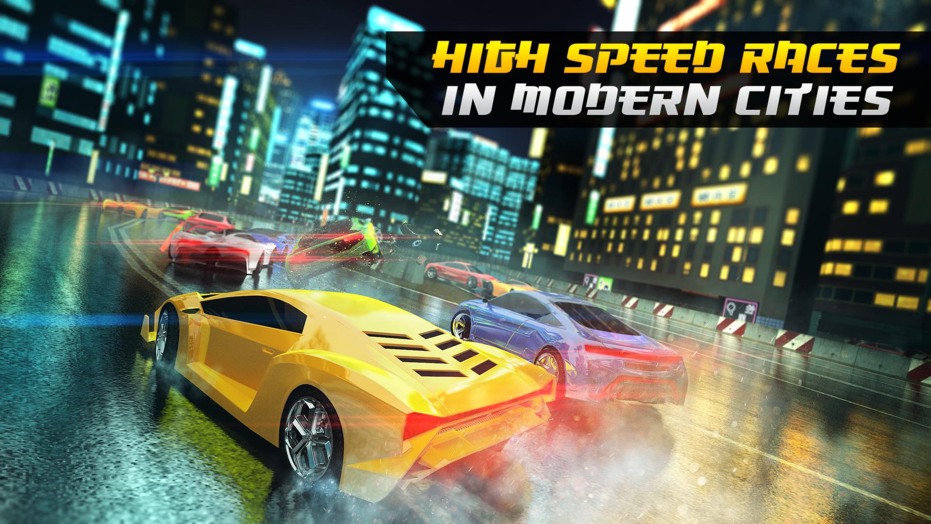 High Speed Race: Need for Asphalt Racing