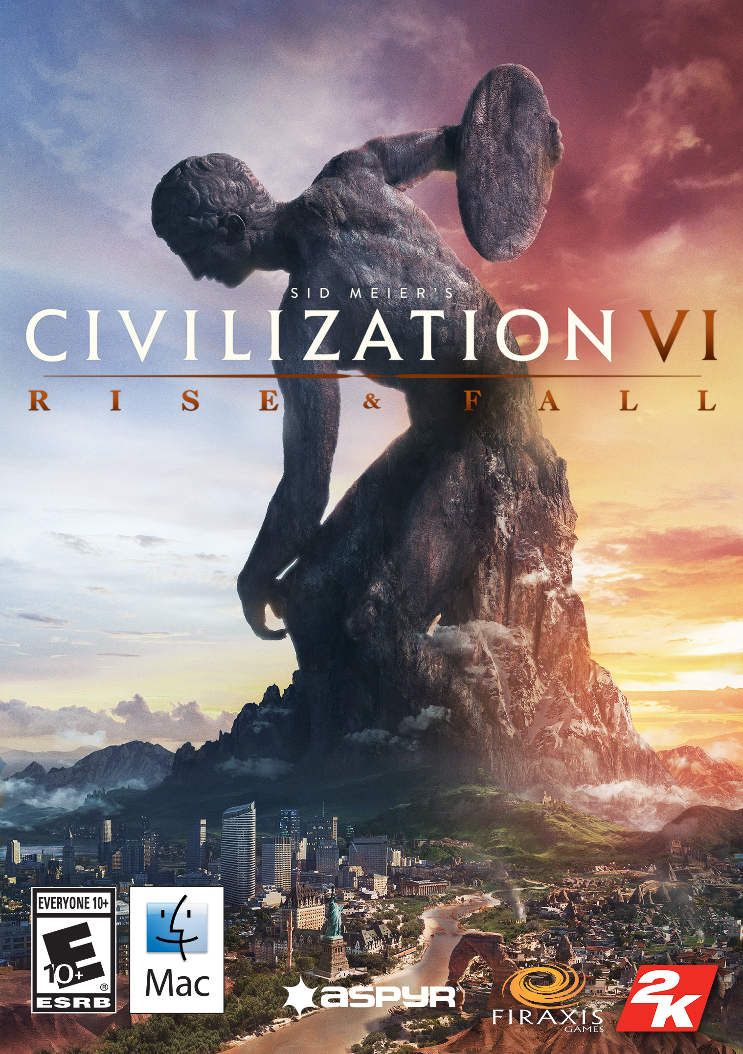 Sid Meier?s Civilization VI: Rise and Fall [Online Game Code][Mac] [Online Game Code]