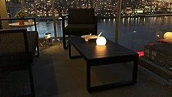 Impermeable 30cm Aimosen L/ámpara Bola LED Exteriores de Carga Solar RGB Bola de Luz Nocturna Multicolor Regulable 16 Colores L/ámpara de 1200mAh para Decoraci/ón Estanque Jard/ín Patio C/ésped Trasero