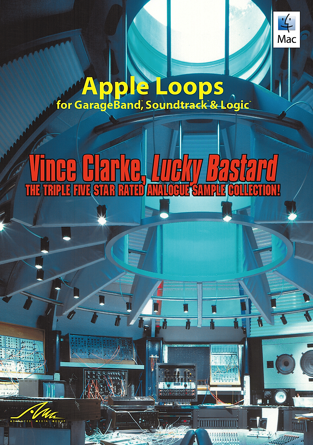 Vince Clarke, Lucky Bastard - Apple Loops from the King of the Synth [Download] by AMG