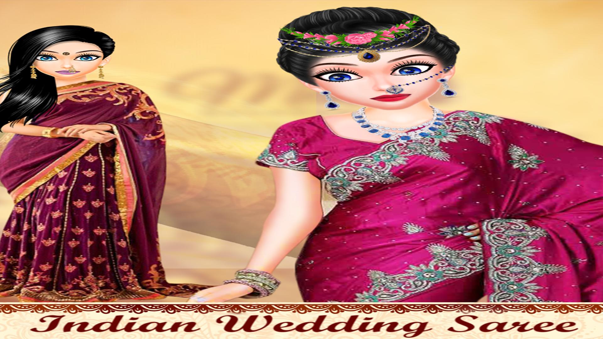 Amazon Com Indian Wedding Girl Makeup And Mehndi
