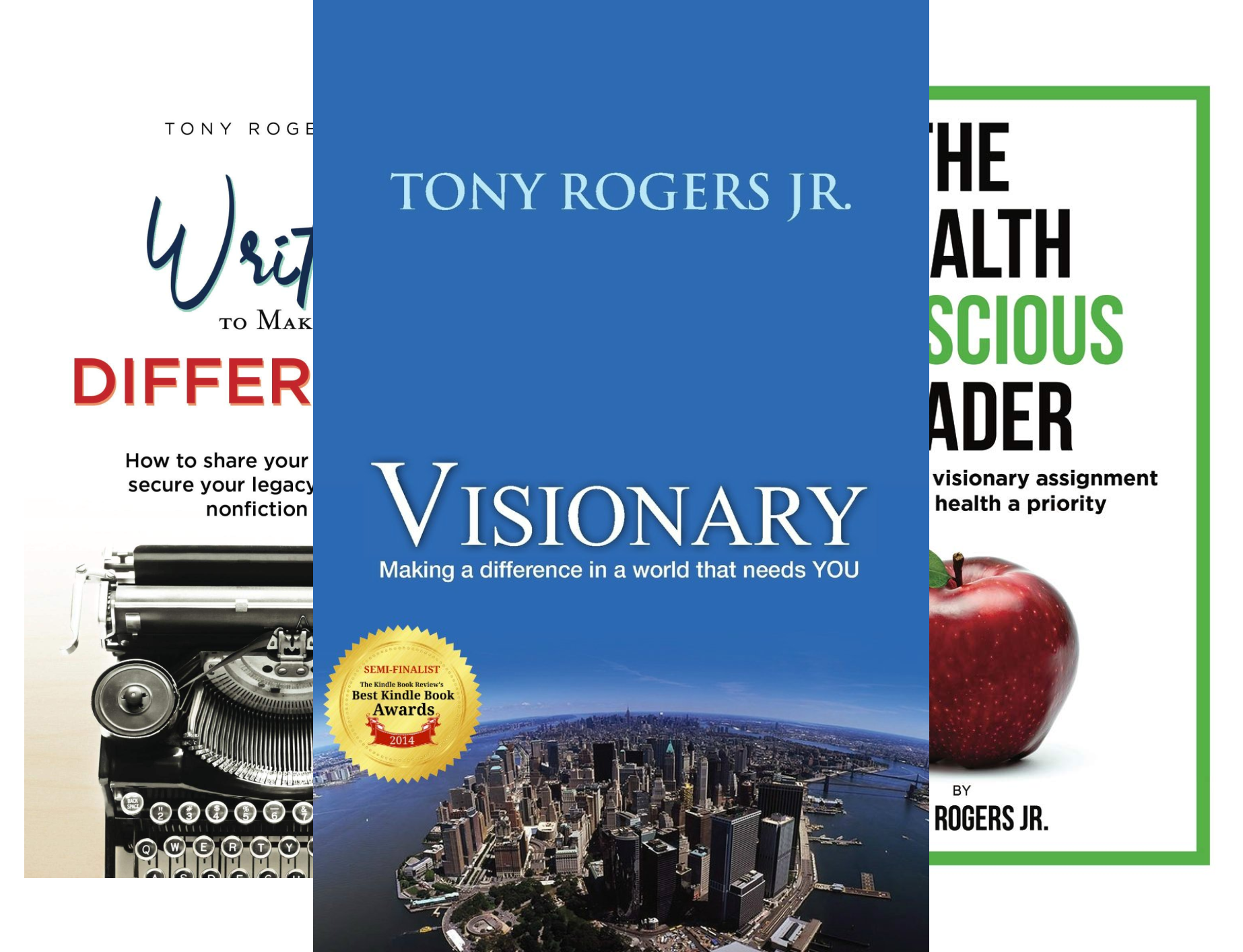 The Visionary Library (3 Book Series)