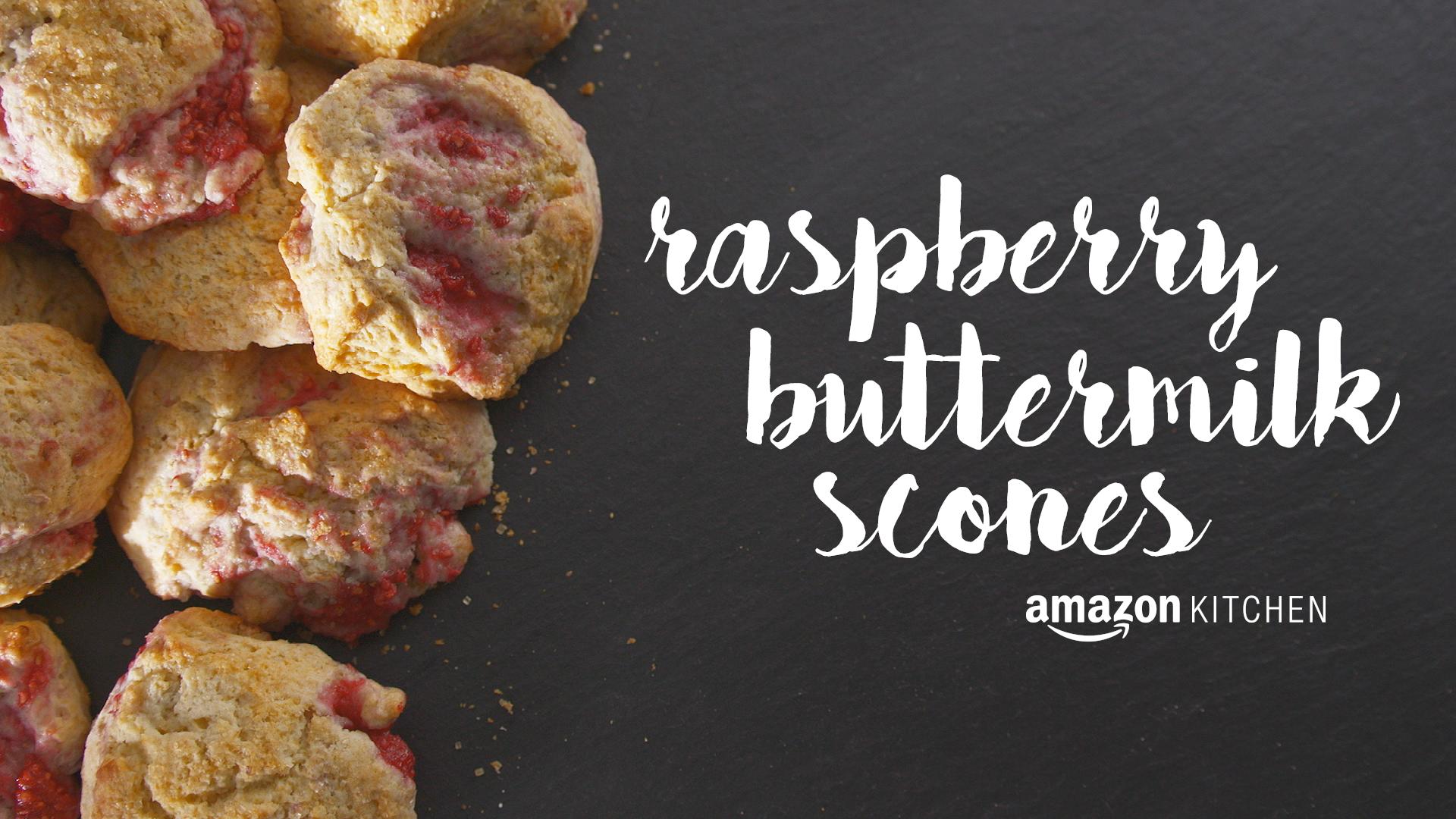 Raspberry Buttermilk Scones