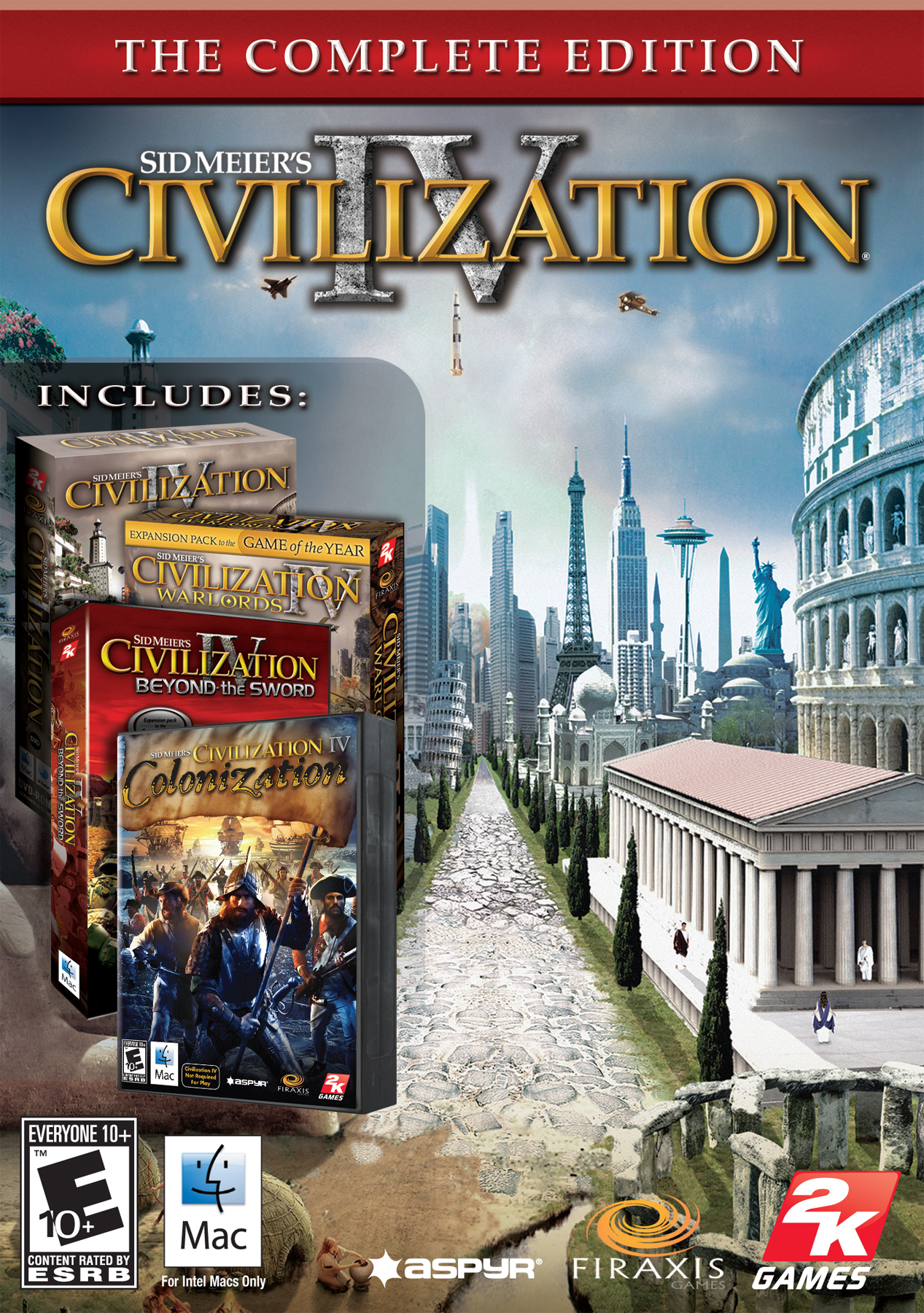 Sid Meiers Civilization IV: The Complete Edition [Online Game Code] by Aspyr