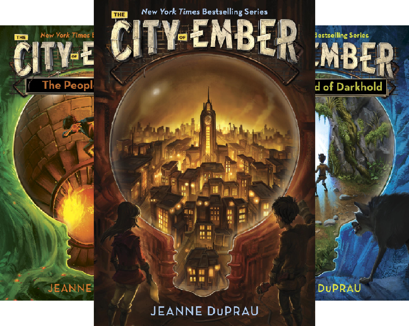 The City of Ember (4 Book Series)