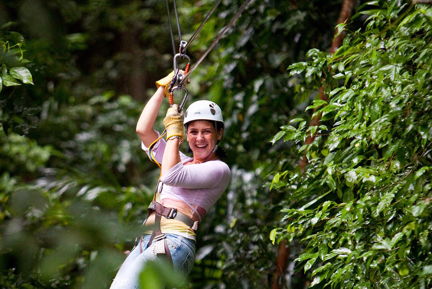 St Lucia Adventure Tours: Treetop Zip Trip