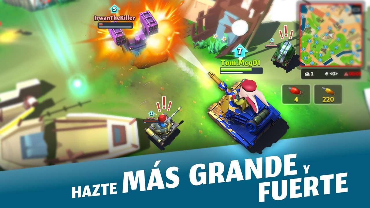 PvPets: Tank Battle Royale: Amazon.es: Appstore para Android