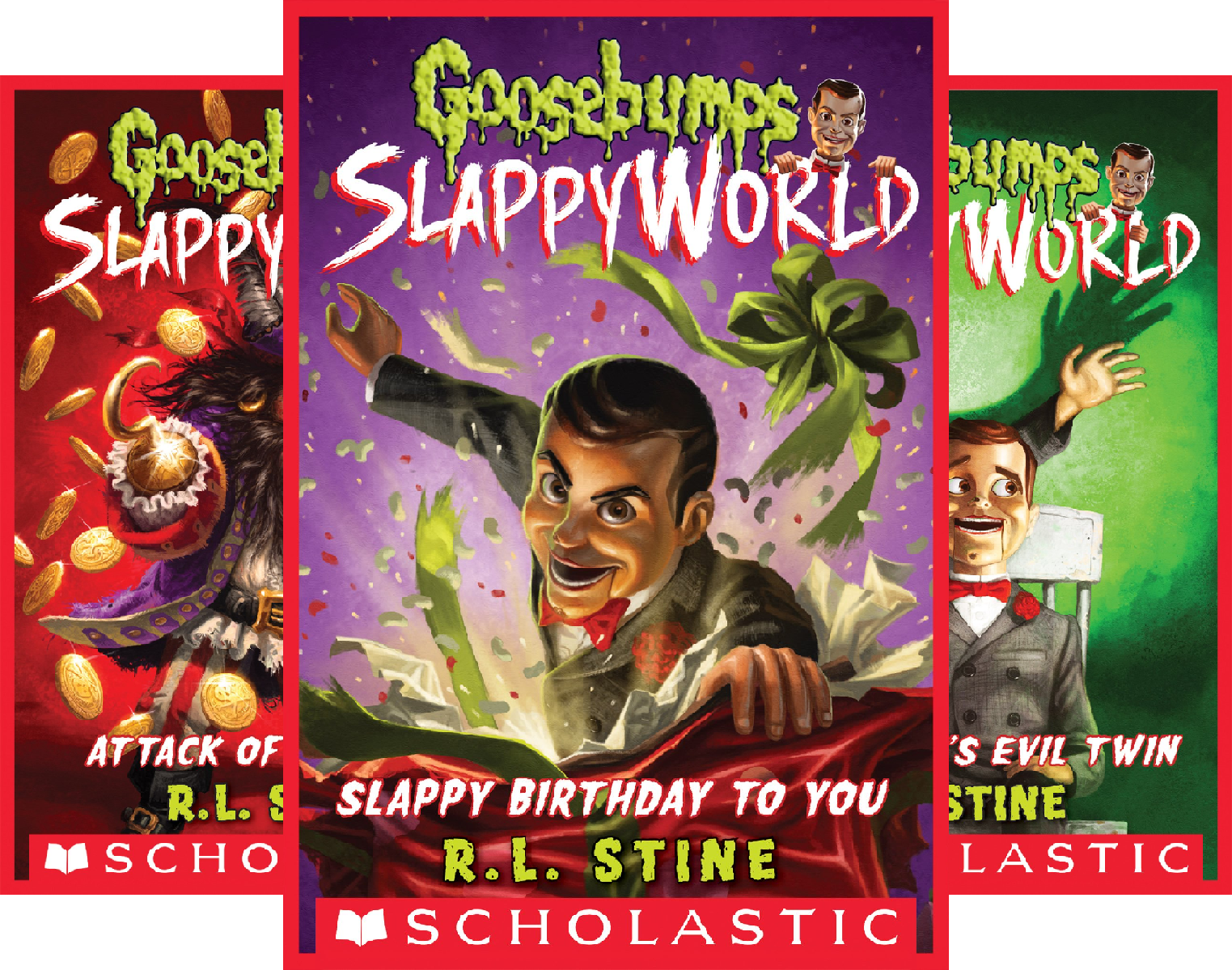 Halloween Horror Nights Jack In The Box (Goosebumps Slappyworld (8 Book)