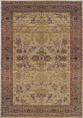 Oriental Weavers Kharma 836Y1 Area Rug, 9 9 x 12 2 , Beige