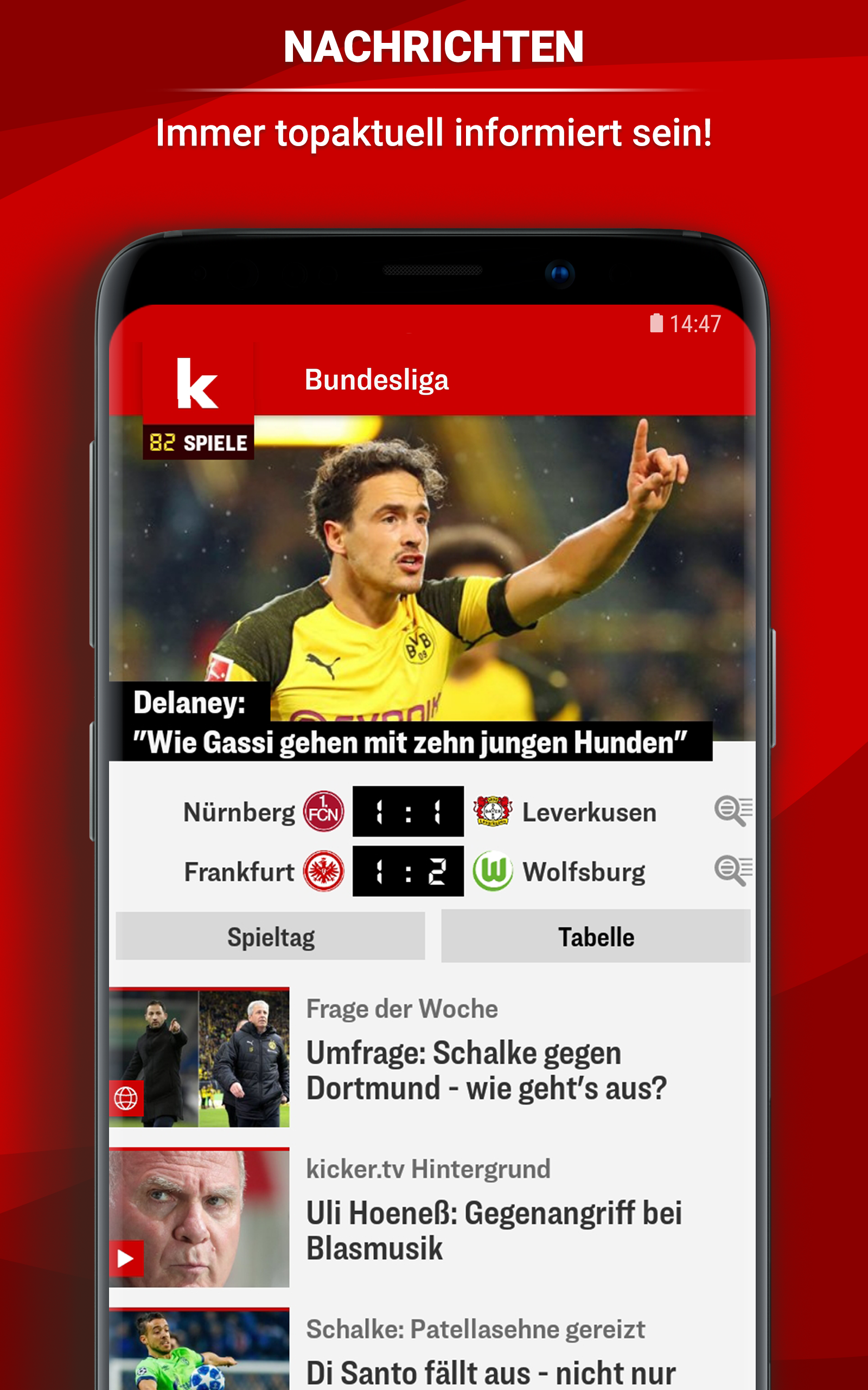 Kicker Fussball News Amazon Ca Appstore For Android
