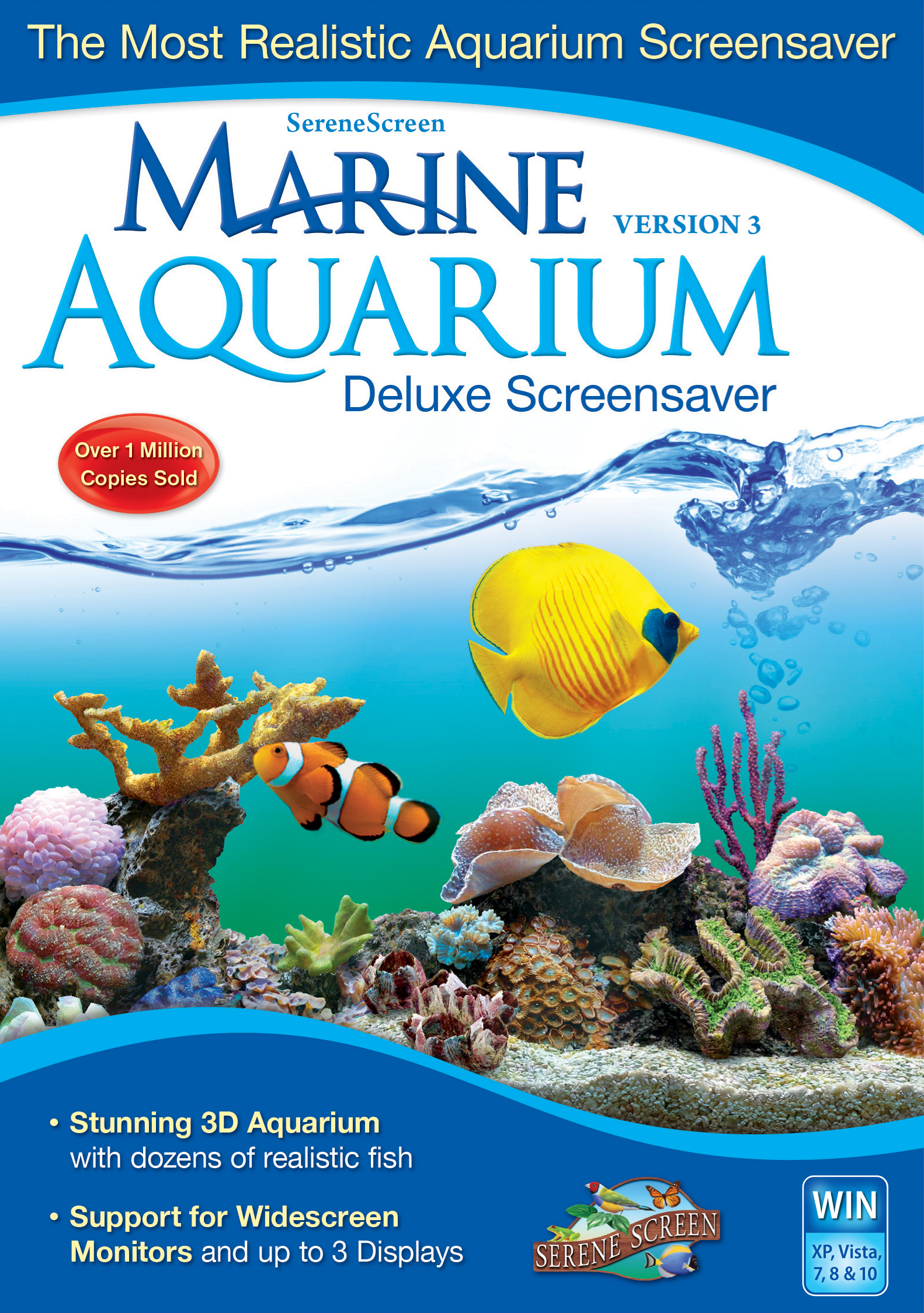 Marine Aquarium Deluxe 3.0 for Windows [Download] by Nova Development US