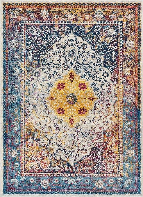 KILIM Boho Bohemian Vintage Style K609 Area Rug avail 5x7 8x11 more