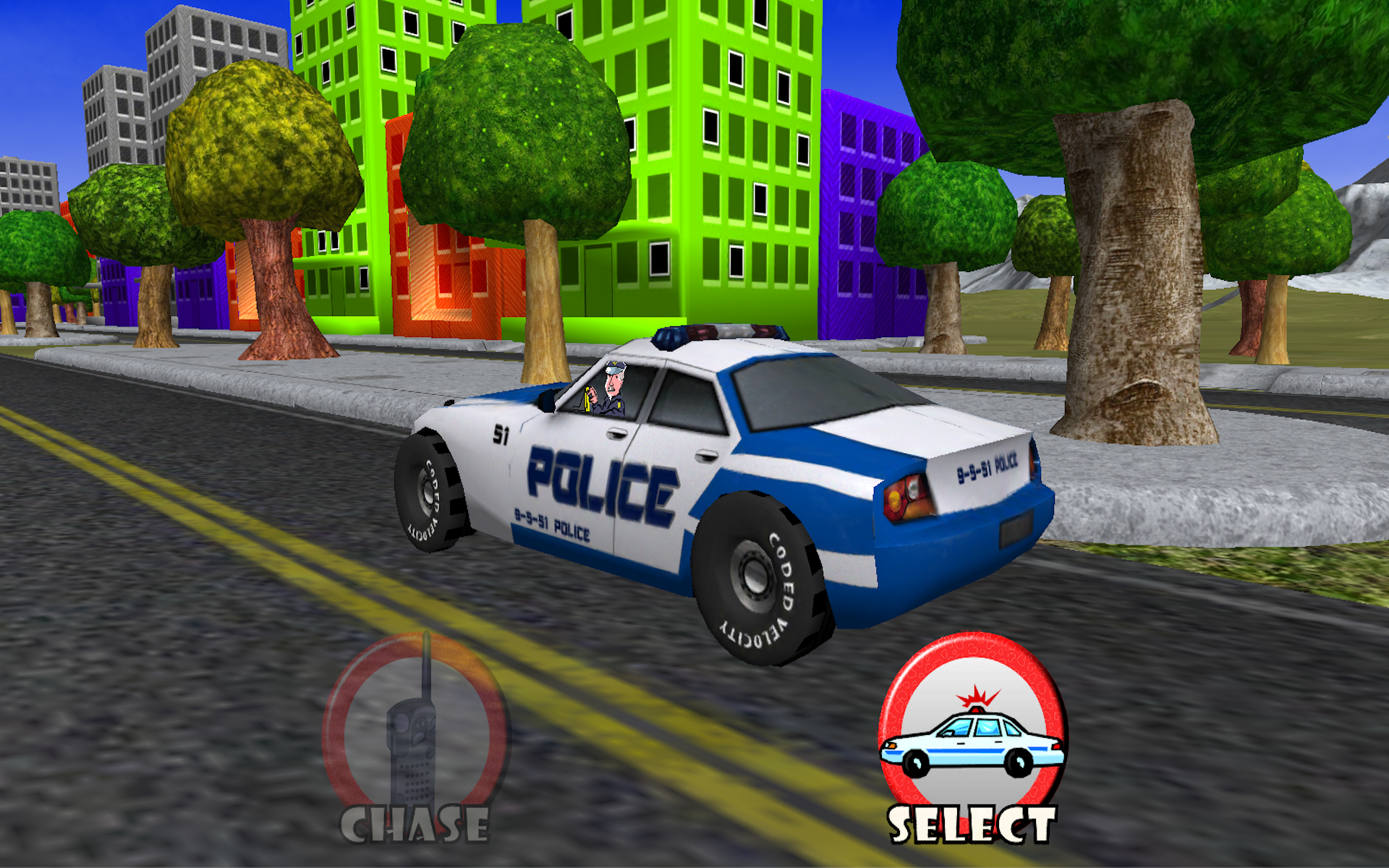 Amazon.com: Police Car Toddler Racing! Toy Car Game For ...