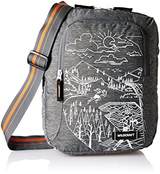 fbb2f066e Wildcraft Polyester Black Ml Messenger Bag (U Sling   Wildcraft    Black Ml)  Amazon.in  Bags