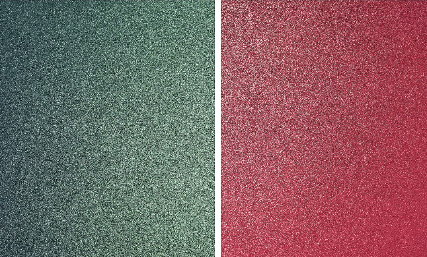 20 x A4 Christmas Paper High Quality 120gsm Pearlescent Shimmer Majestic Red and Green 10 Sheets of Each Double Sided Syntego