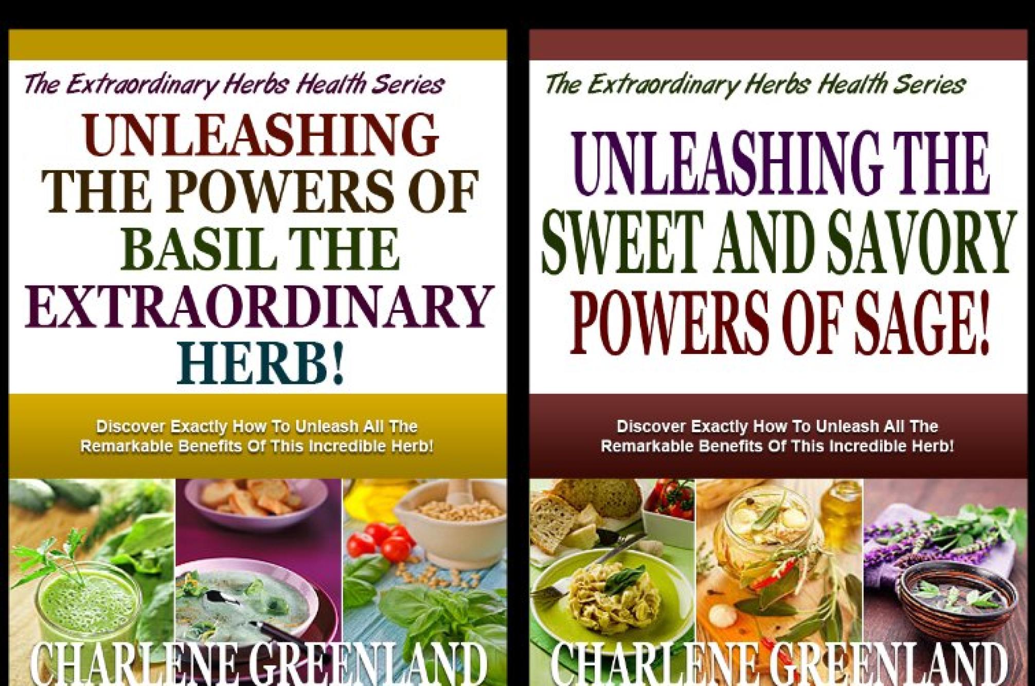 The Extraordinary Herbs Health Series (2 Book Series)