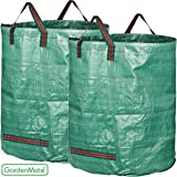 GardenMate 2-Pack 132 Gallons Garden Waste Bags PROFESSIONAL - Reusable Bag