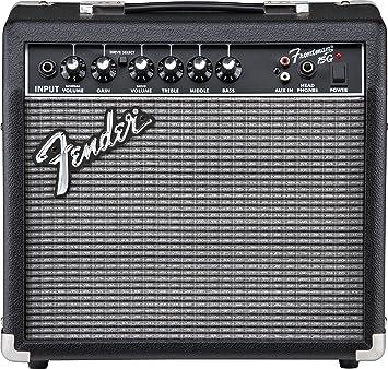 Amplificador de Guitarra Eléctrica Fender Frontman 15 g: Amazon.es: Instrumentos musicales