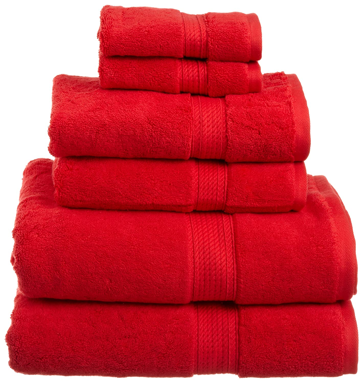 superior 900 gsm luxury bathroom 6 piece towel set made of 100 premium ebay. Black Bedroom Furniture Sets. Home Design Ideas