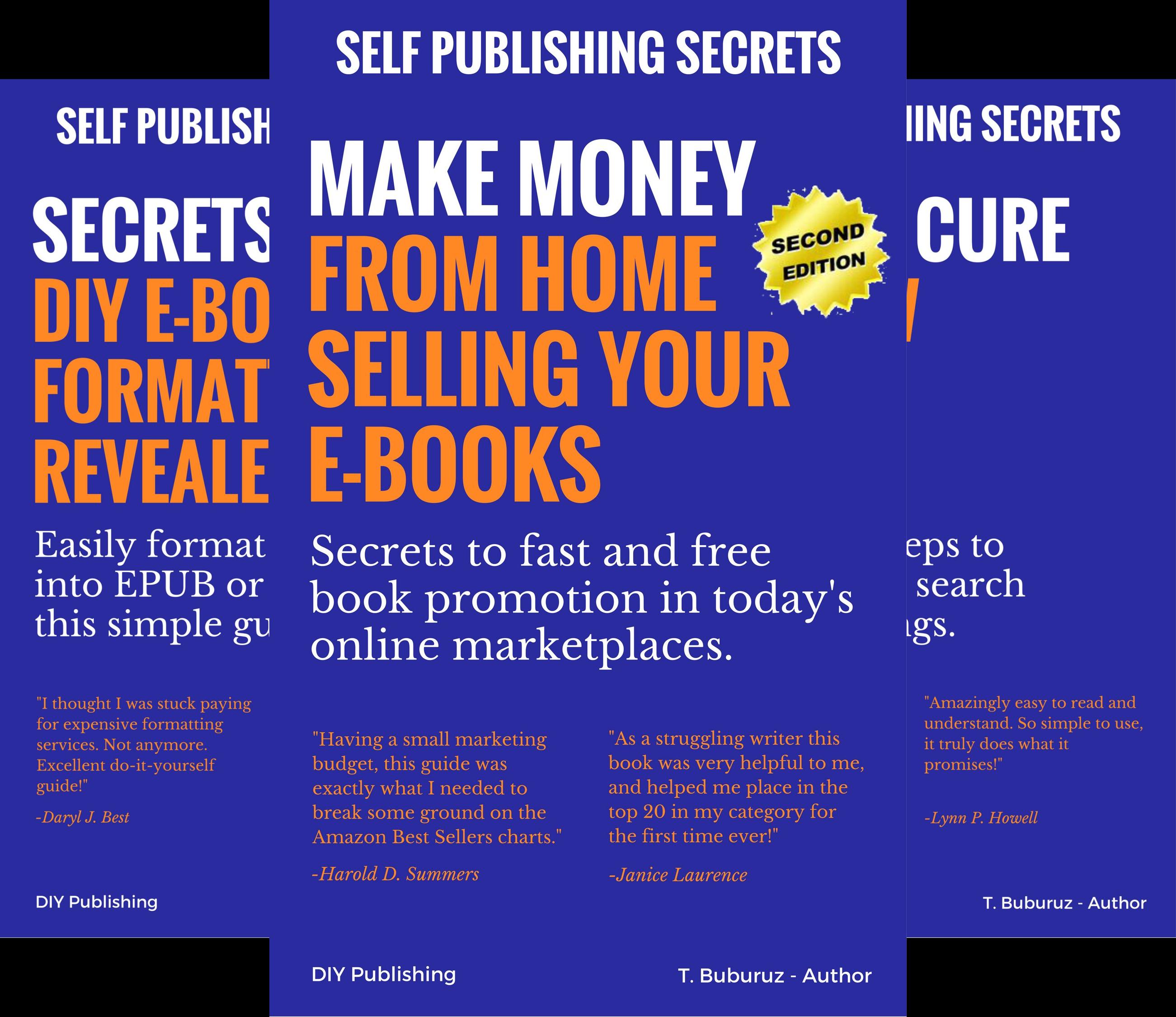 Self Publishing Secrets (4 Book Series)