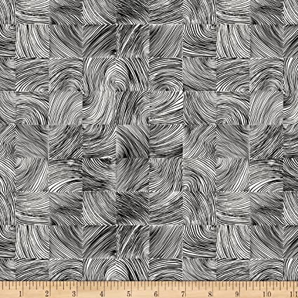 261f2dabef0 Image Unavailable. Image not available for. Color: Marimekko Kubb Linen  Black/White Fabric ...