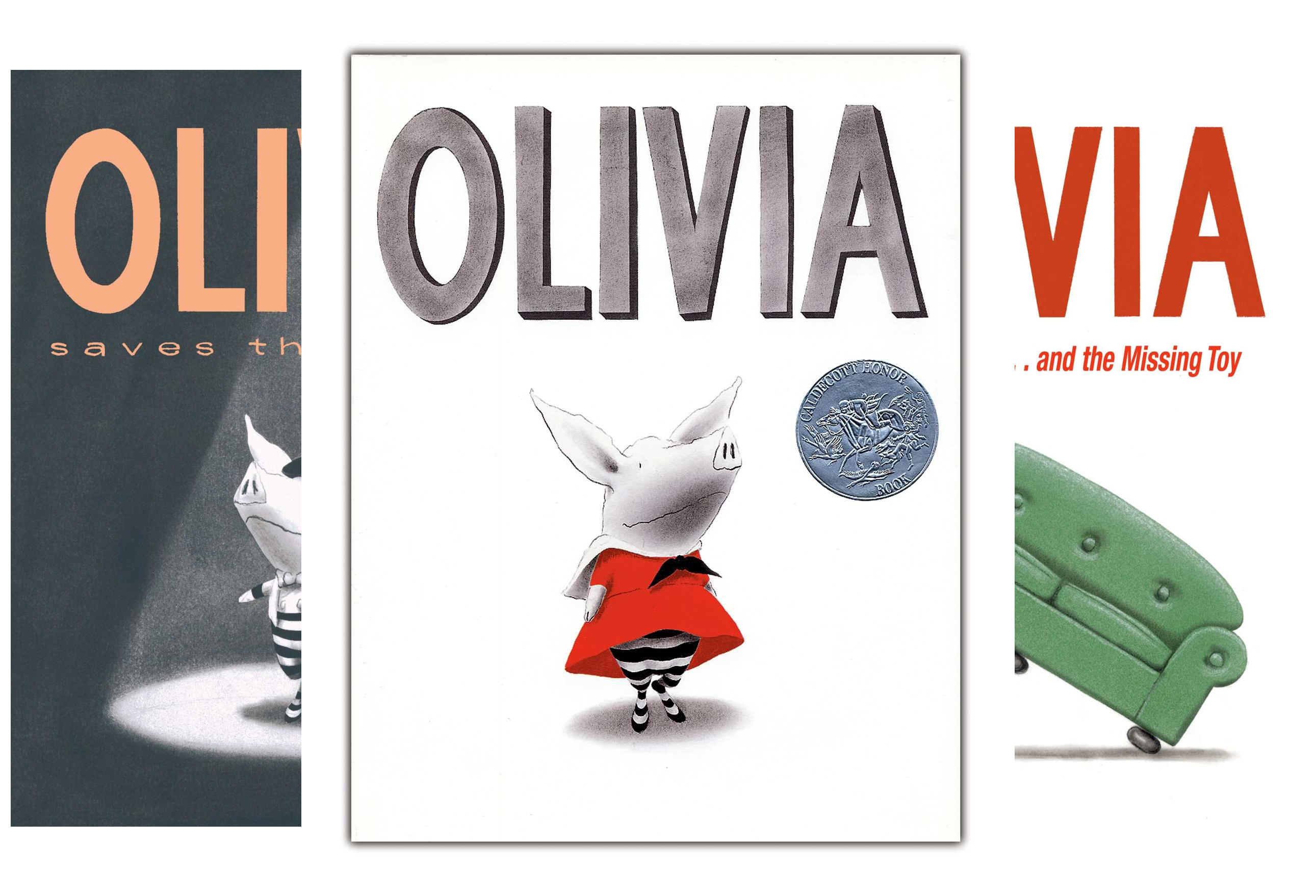 The Olivia Collection: Olivia; Olivia Saves the Circus; Olivia...and the Missing Toy; Olivia Forms a Band; Olivia Helps with Christmas; Olivia Goes to Venice; Olivia and the Fairy Princesses (7 (Olivia Forms)