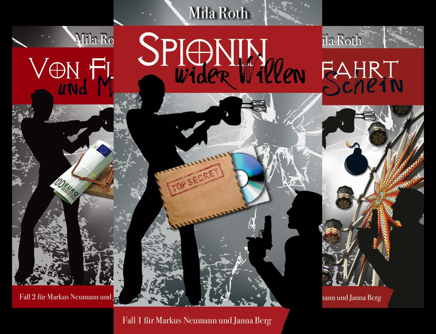Spionin wider Willen (Reihe in 12 Bänden)