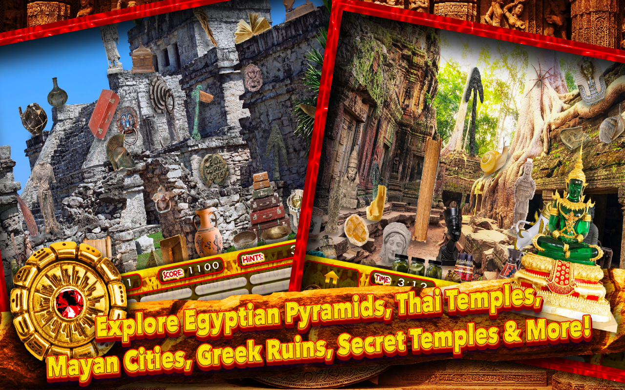Hidden Objects Ancient Ruins – Seek & Find Object Puzzle Adventure Game: Amazon.es: Appstore para Android