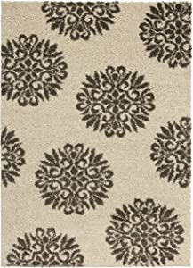 Mohawk Home Exploded Medallions Area Rug, 5'x7', Cocoa