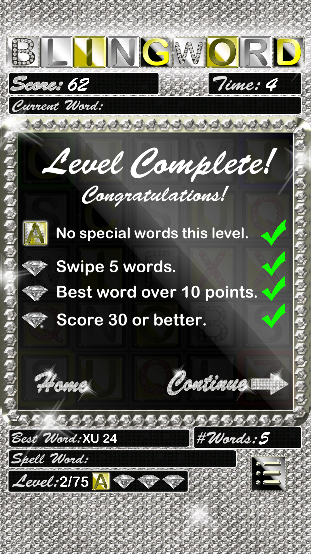 Blingword - Bling Word Game: Amazon.es: Appstore para Android