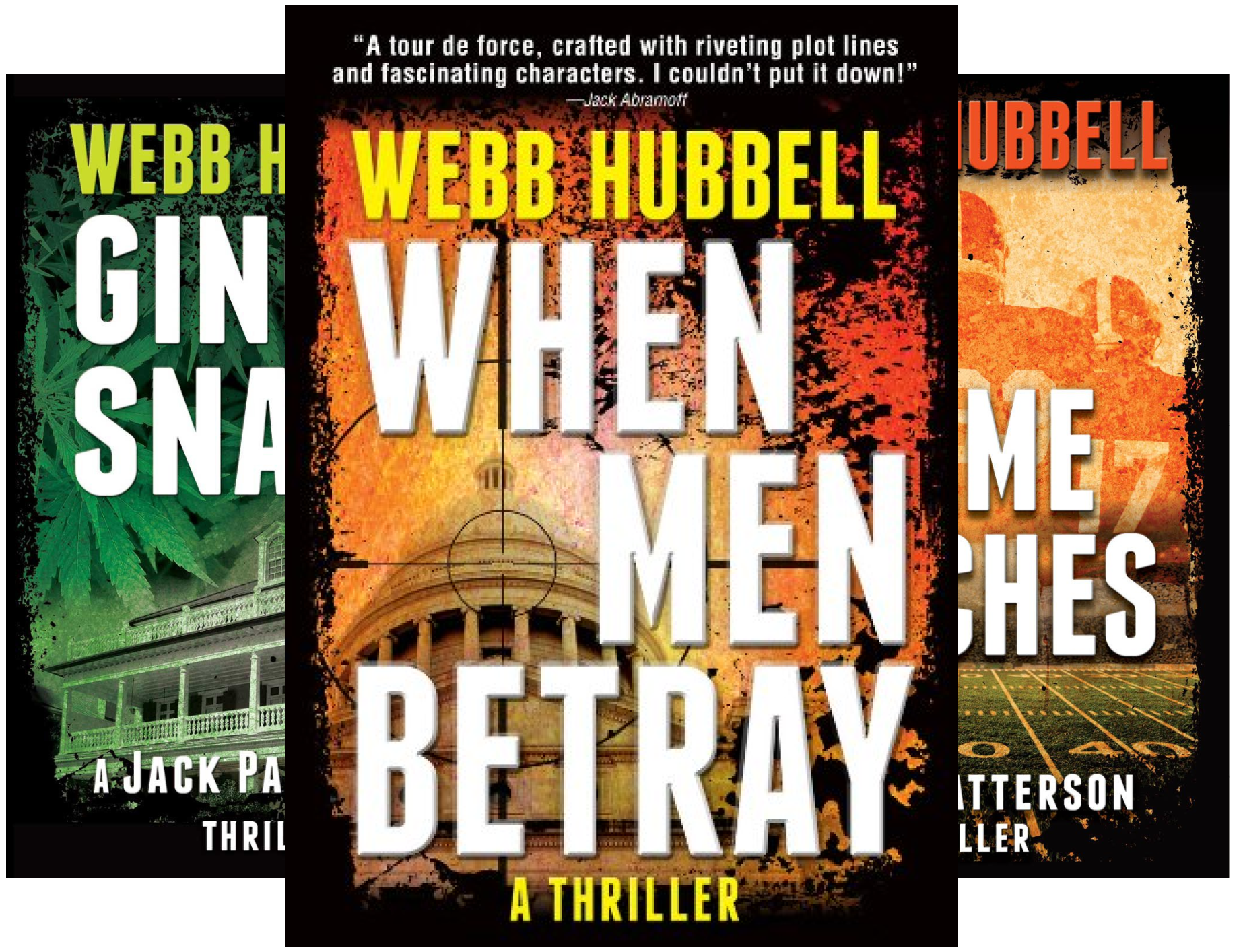 A Jack Patterson Thriller (3 Book Series)