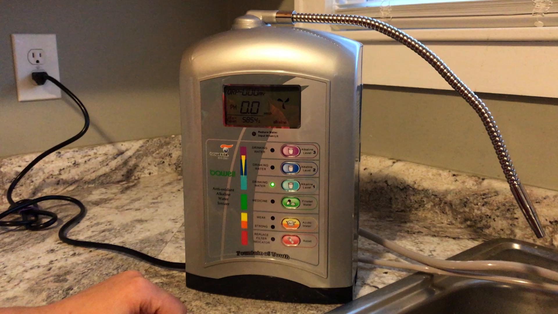Amazon Com Alkaline Ionized Water Ionizer Machine Home