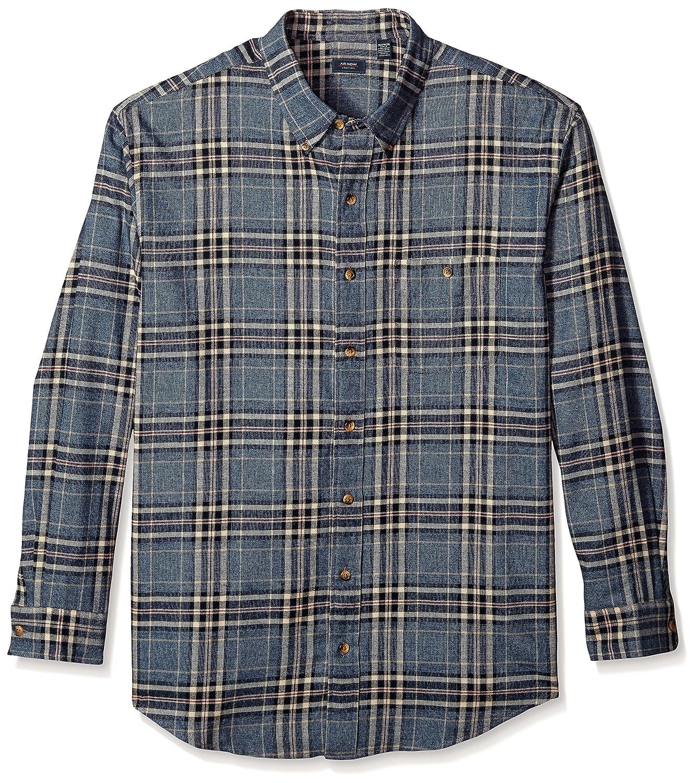 Arrow Men's Big and Tall Long Sleeve Plaid Flannel Shirt Arrow Men's Tops 52W1148