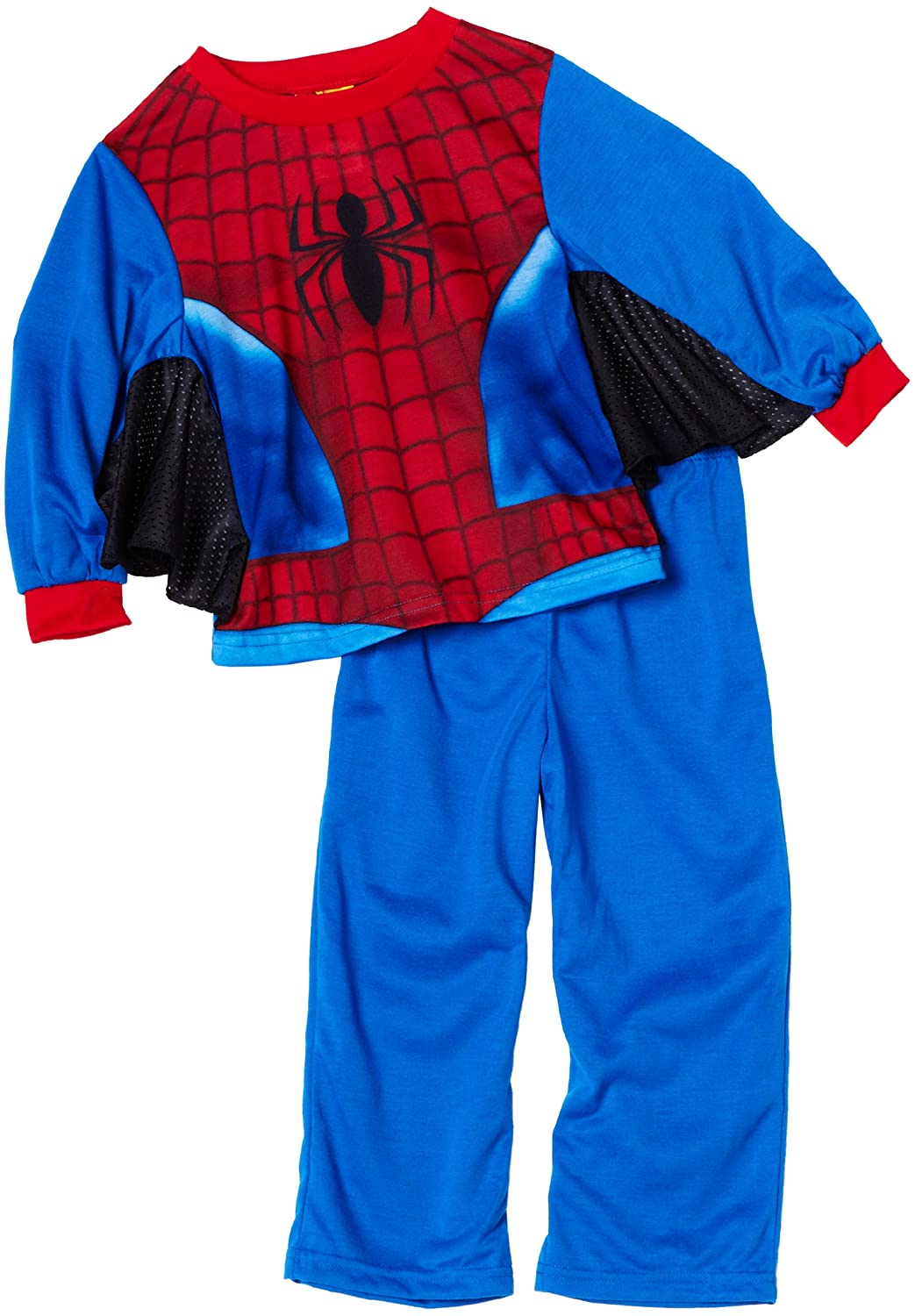 AME Sleepwear Little Boys Spider-Man Pajama Set Blue 2T AME Sleepwear Girls 2-6x 21SM033LLFPZA