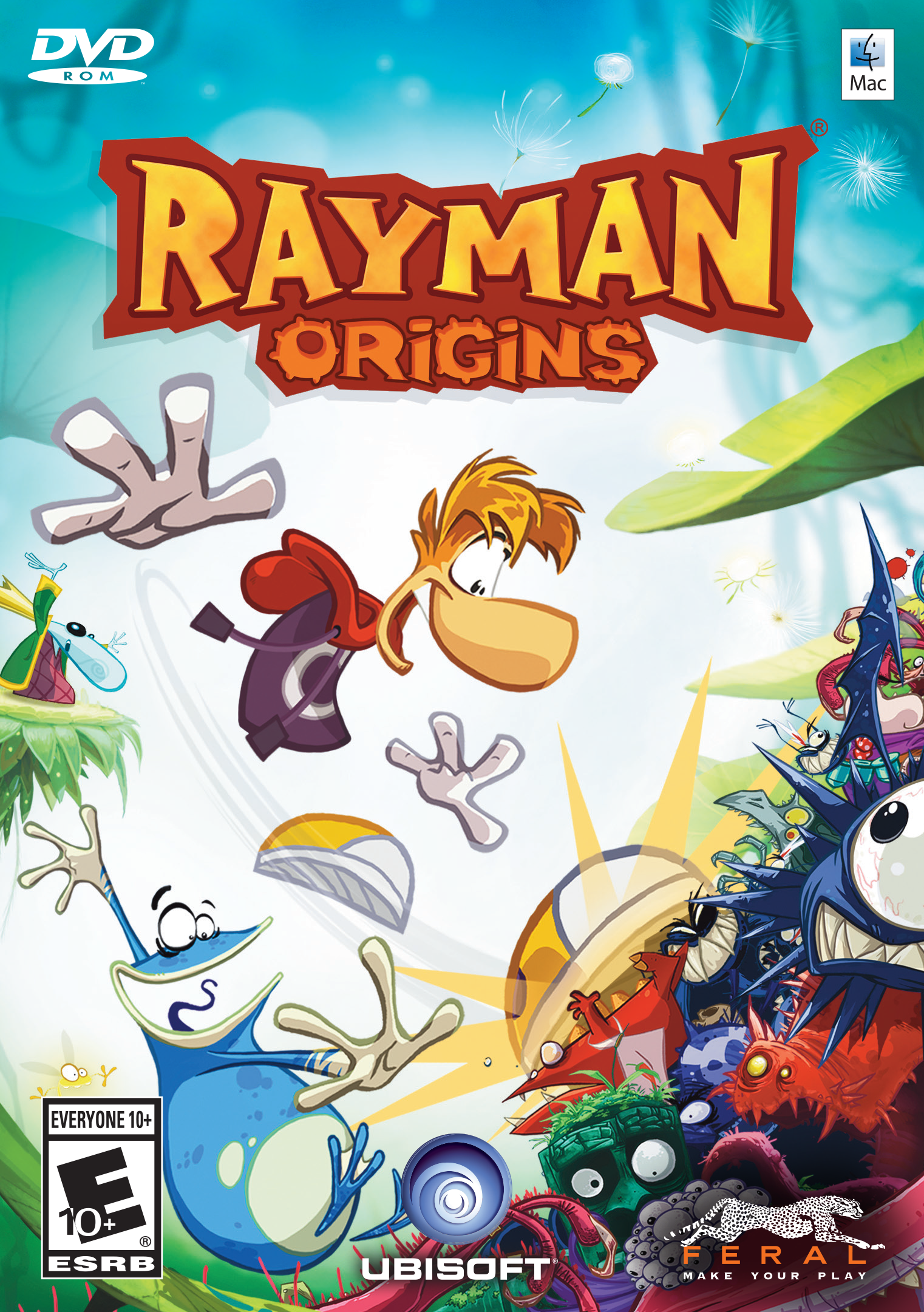 Rayman Origins (Mac) [Online Game Code] (Players Cue Series Classic)