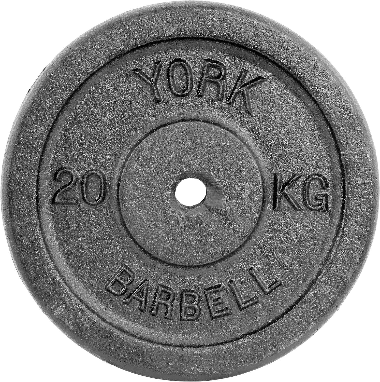 York Fitness - Disco de Hierro Forjado