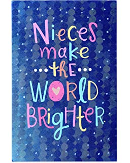American Greetings Brighter Birthday Card For Niece With Glitter