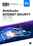 Software : Bitdefender Internet Security 2018 | 3 PC, 2 Year | Download [Online Code]