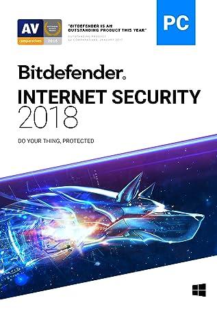 Bitdefender Internet Security 2018 | 3 PC, 1 Year | Download [Online Code]